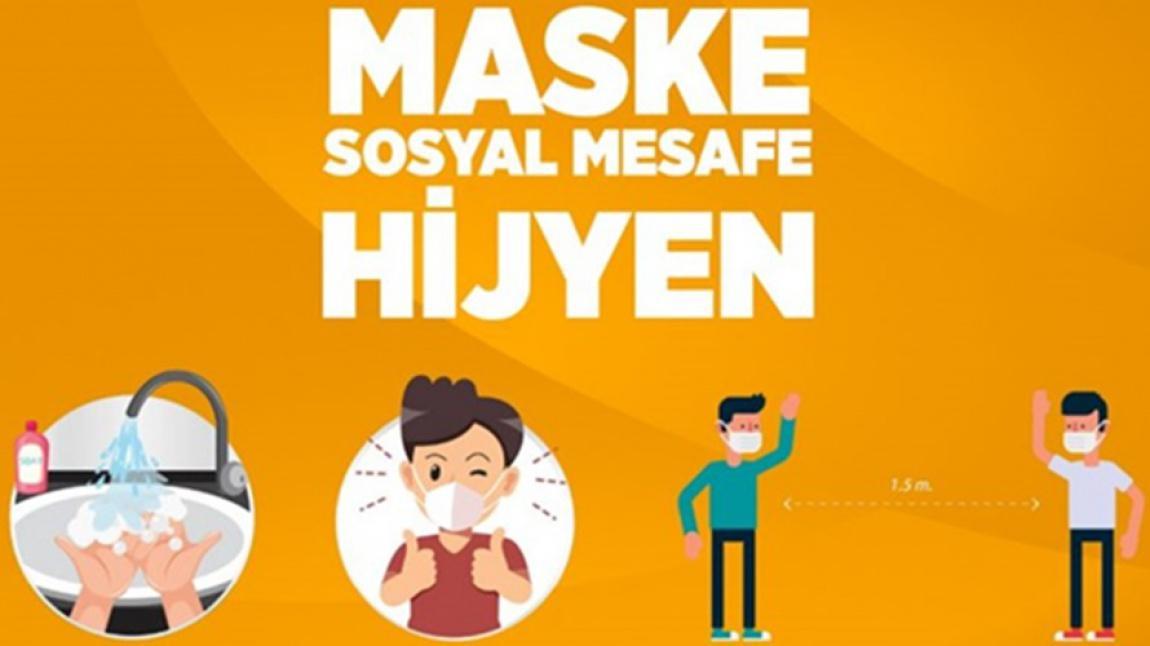 MASKE - SOSYAL MESAFE - HİJYEN